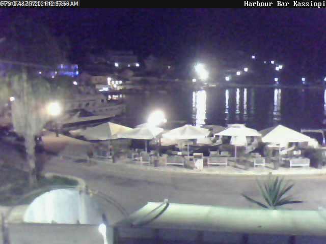 Kassiopi LIve Webcamera